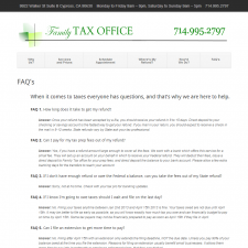 FAQs - Family Tax Office