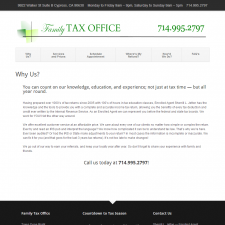 Why Us - Family Tax Office